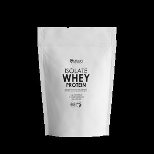 Whey isolate protein fitness gym proteina suero lacteo Ecuador sabor vainilla perder peso ganar masa muscular americanas usa calidad 25g